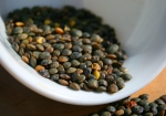 A cup of cooked lentils contains 358 micrograms of folate.